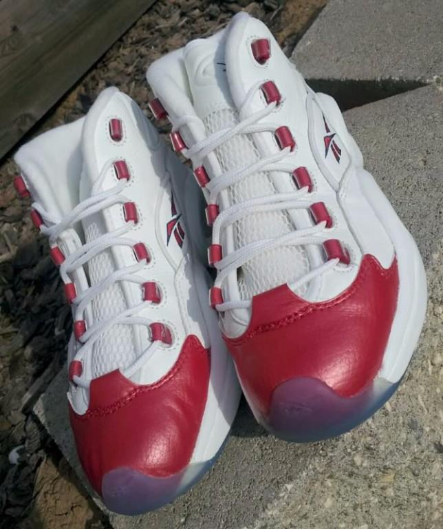 Allan Iverson Red Reebok Shoes For Sale